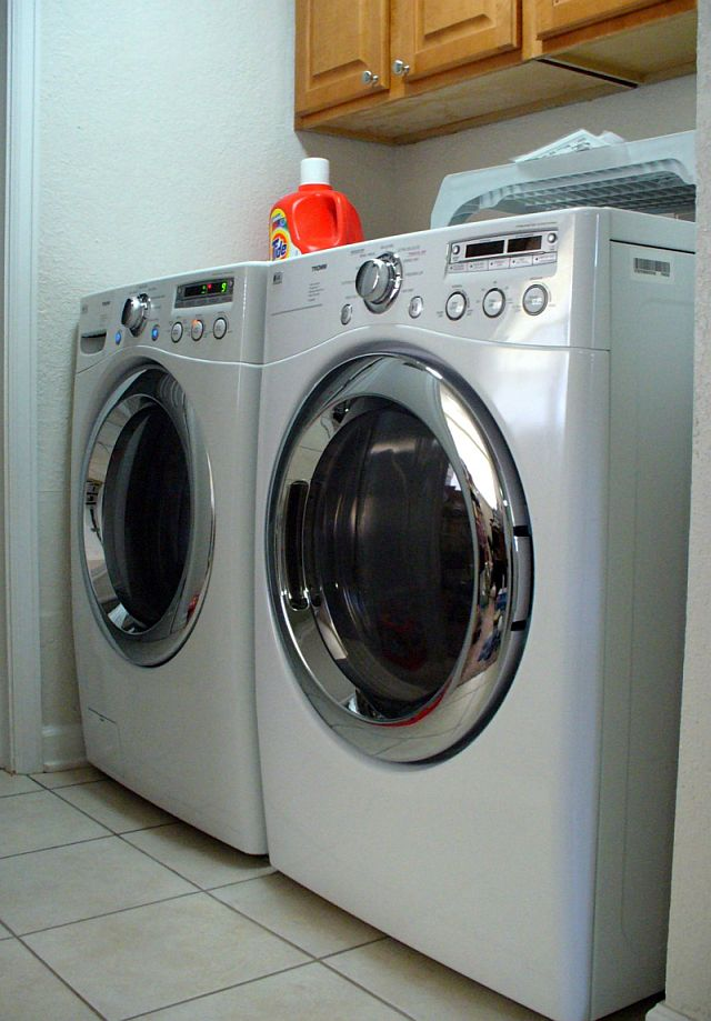 My New Washer and Dryer