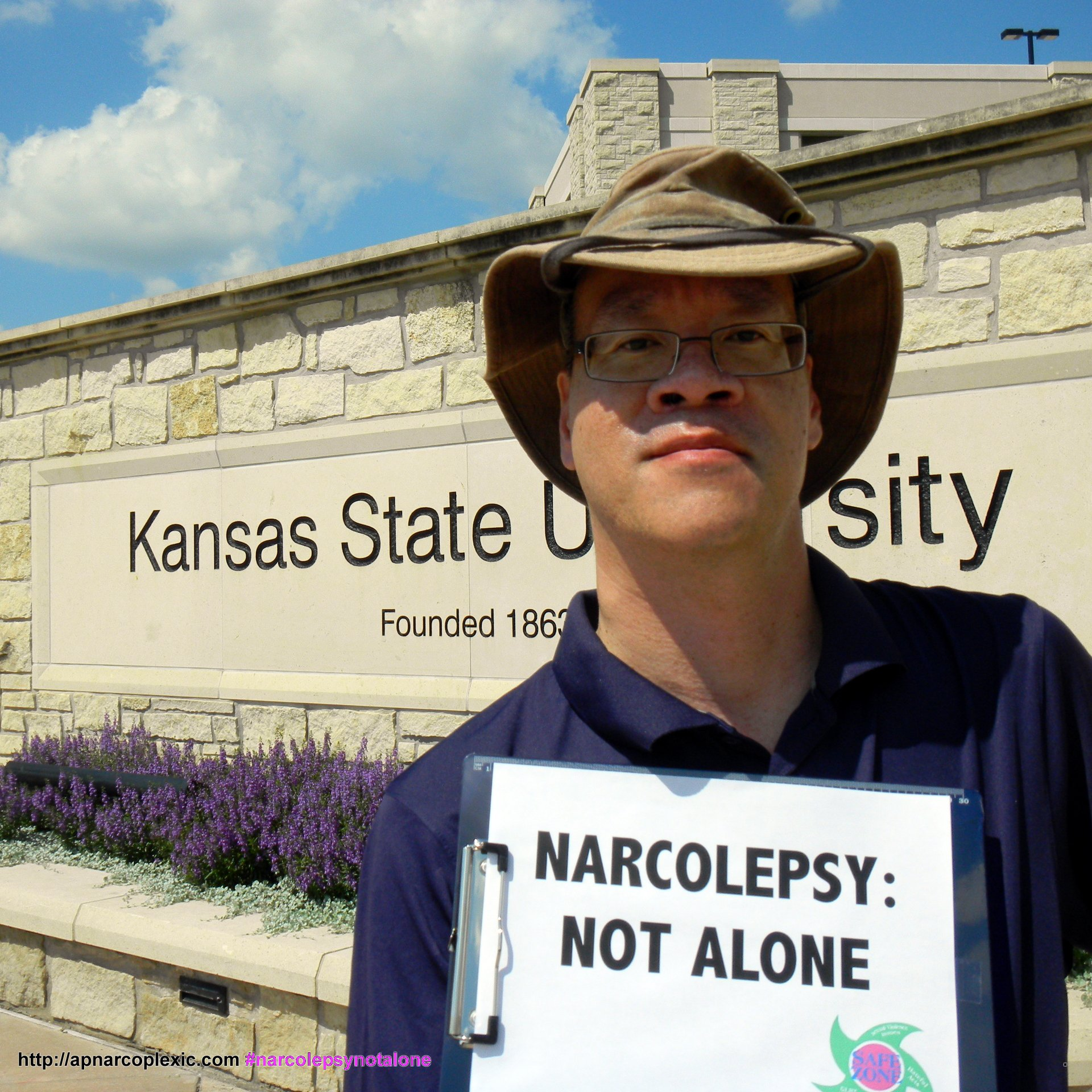 Lawrence Chen -- Narcolepsy: Not Alone in Manhattan, KS