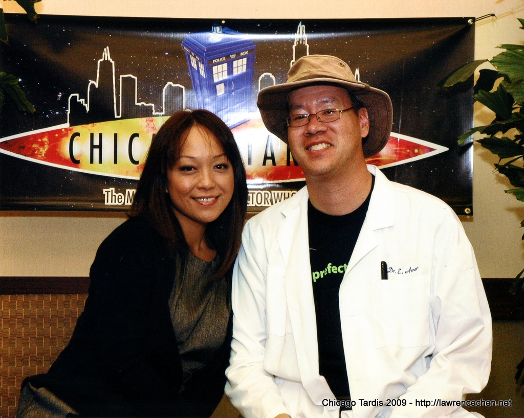 Me and Naoko Mori